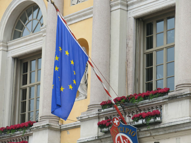 Bandiera UE 2x