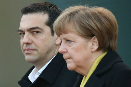 Merkel Tsipras 2x