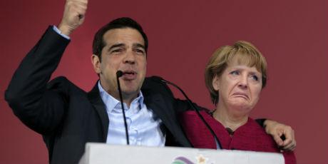 Merkel Tsipras x