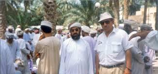con Amir al mercato dell'oasi di Nizwa, Oman
