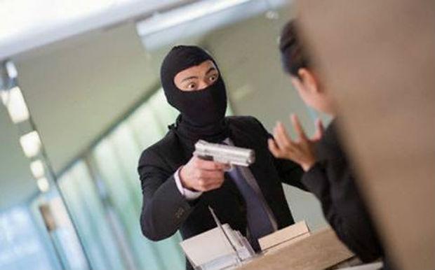 ladro banca