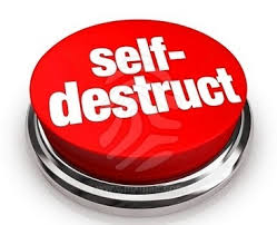 self destruct