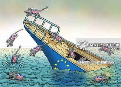 British rats flea the sinking EU