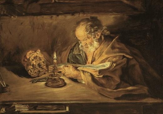 3_Giovanni Serodine, San Pietro che legge x