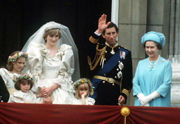 Carlo e Diana nozze