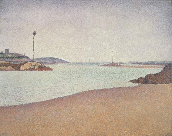 Signac, Saint-Briac. Les balises_1890-731090