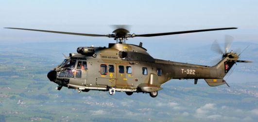 Elicottero Puma : Un super puma precipita sul san gottardo due morti