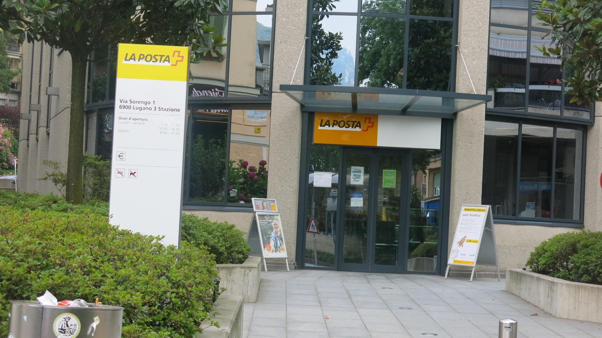 Ufficio Stranieri A Lugano : Chiusura dellufficio postale di besso: unaltra u201cpicconatau201d al