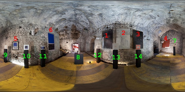Mostra virtuale al Rivelli Leonardo da Vinci Soto-Nilsson-Spicher
